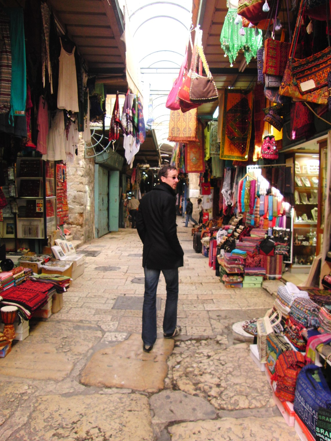 Souk in Jeruzalem