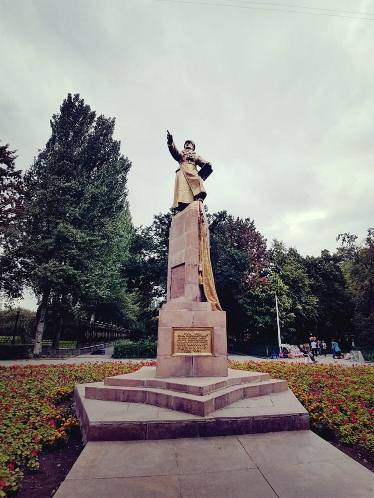 Panfilov in Panfilov Park