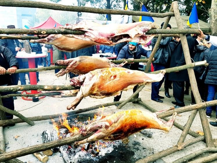 varken aan het spit Roemenië