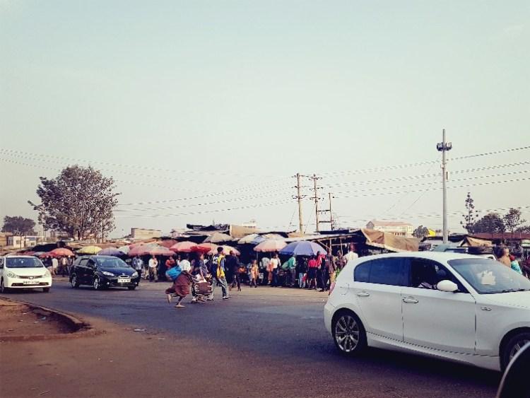 Straatbeeld Nairobi