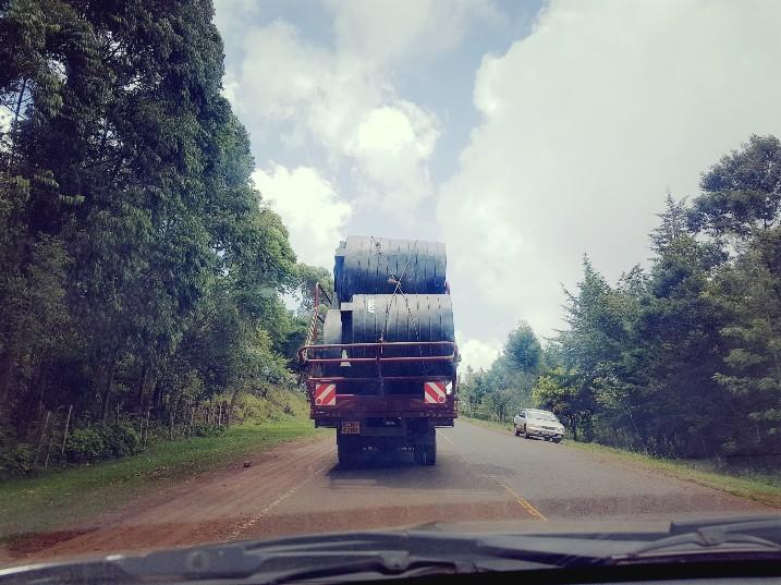 Gevaarlijk transport Kenia