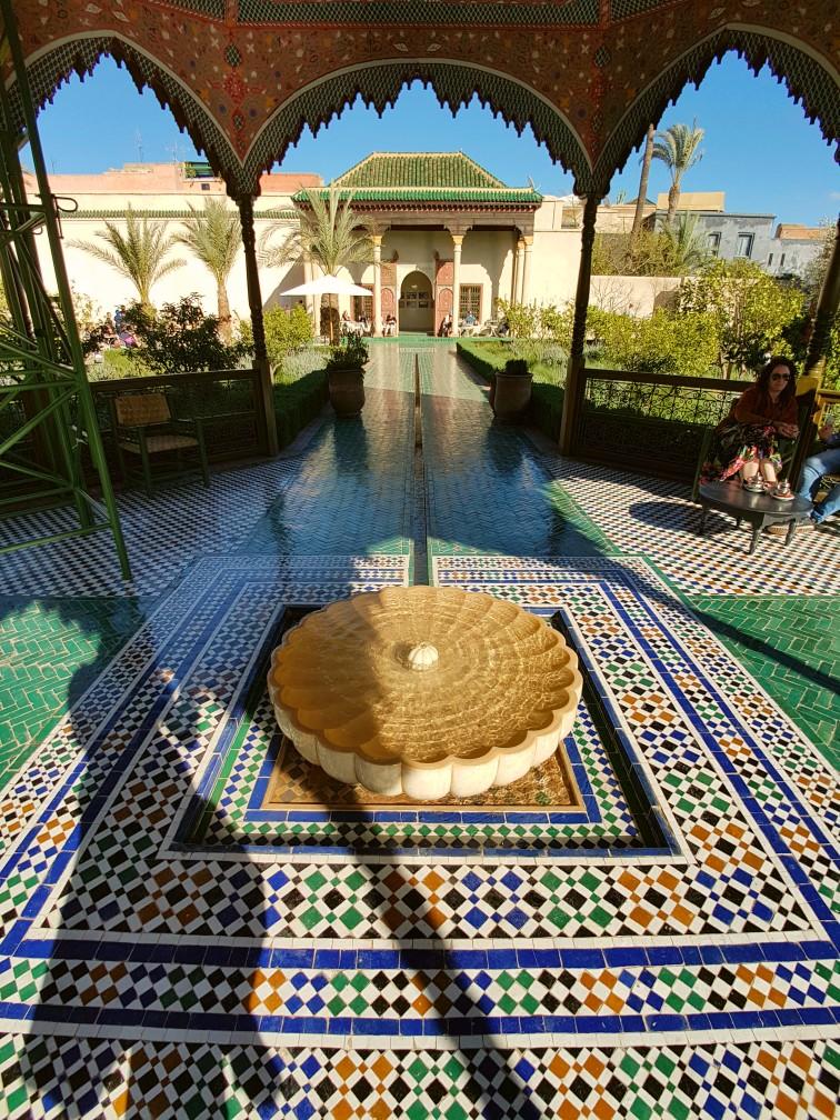 Le Jardin Secret Marrakesh Marokko