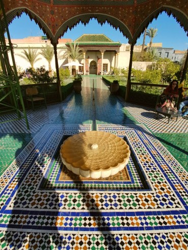 Le Jardin Secret Marrakesh Marokko