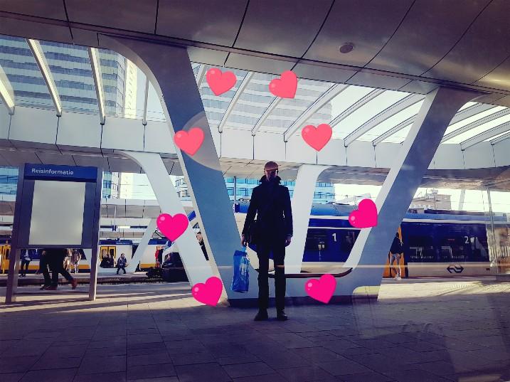 snelle ontmoeting station Arnhem