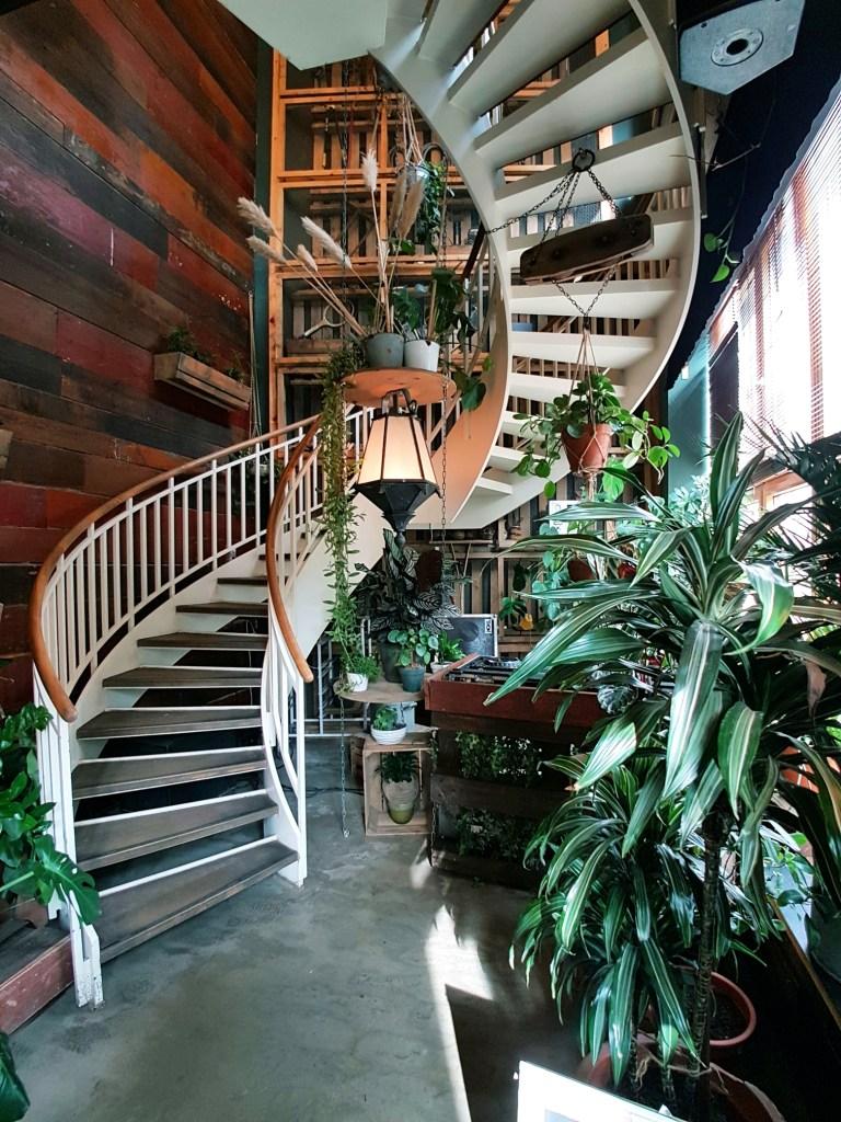 Groen restaurant House of Small Wonders Berlijn Duitsland