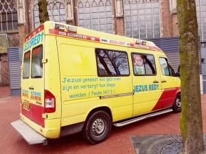Jezus red voor de Eusebius kerk Arnhem