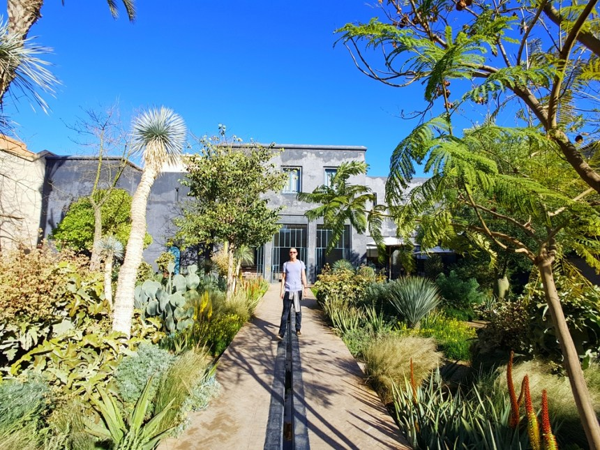Botanische tuin Le Jardin Secret Marrakesh Marokko