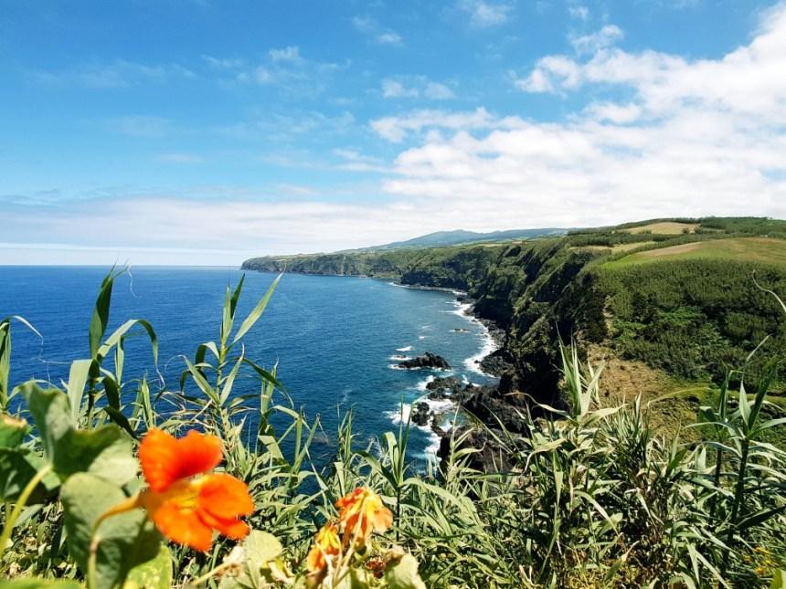 Azoren Sao Miguel Portugal noordkust