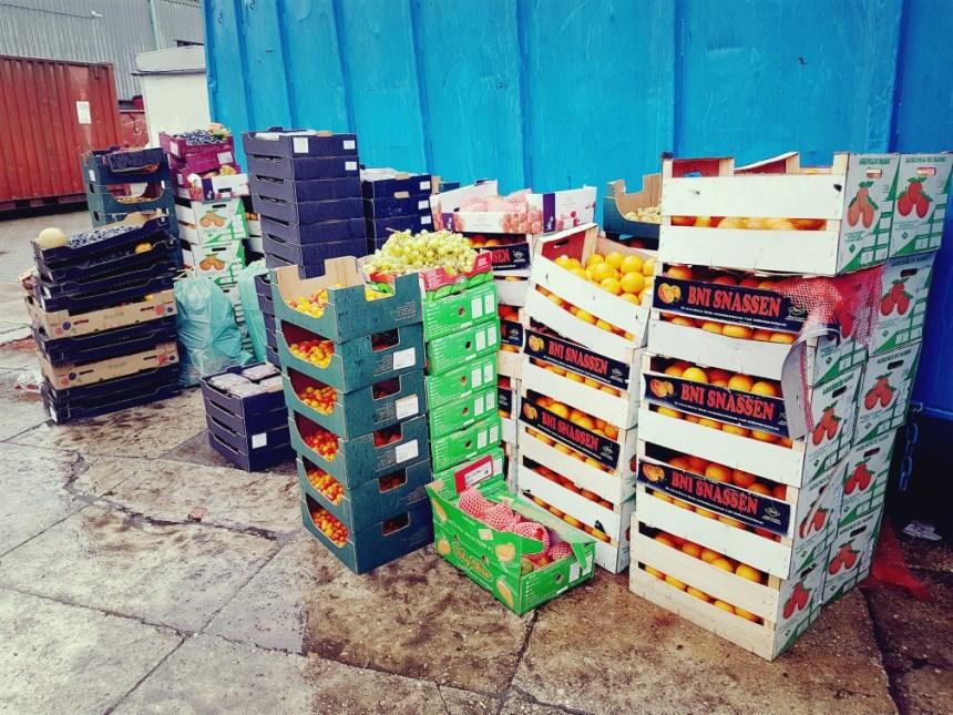 Voedselverspilling fruit en veggies