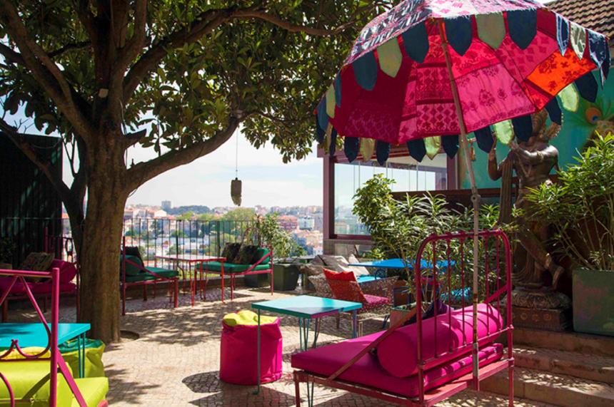 Lost In restaurant en bar Lissabon Portugal