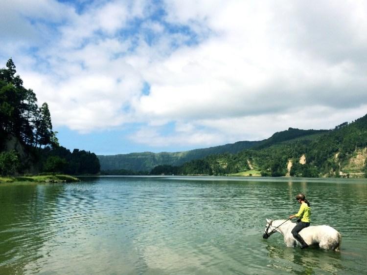 Sao Miguel Azoren Portugal Paardrijden (1)