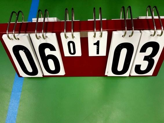 scheidsrechter wedstrijd volleybal