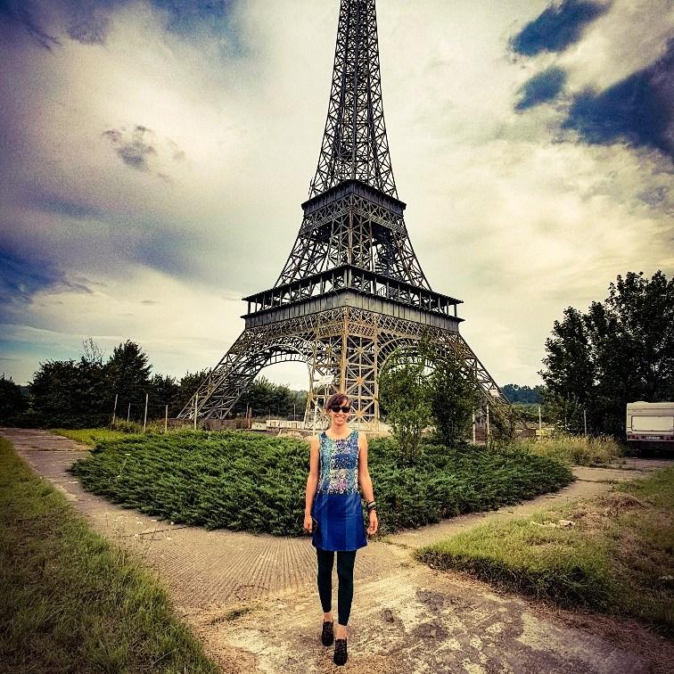 Eiffeltoren landgoed Slobozia Roemenië