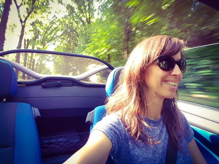 Cabrio Tigra road trip