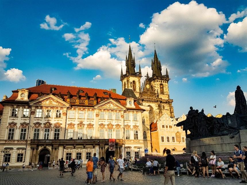 Bezienswaardigheden oude centrum Praag Tsjechië