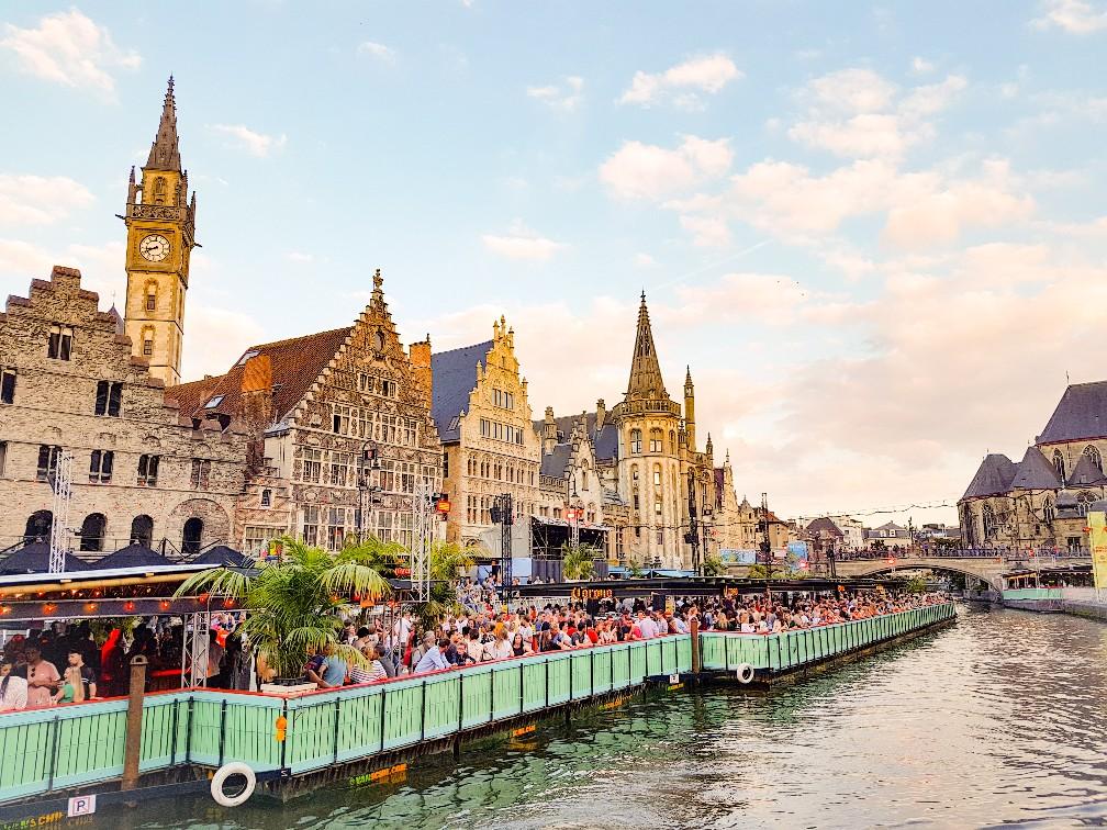 tien dagen vredefeesten Gent België