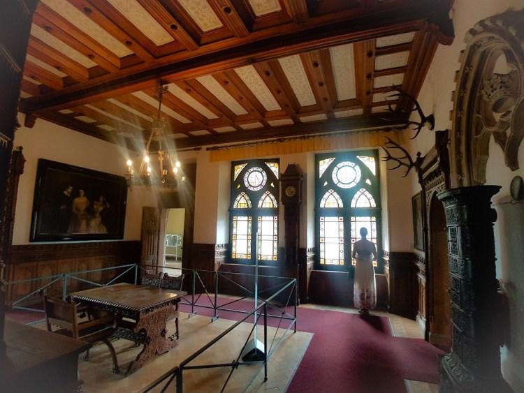 glas in lood Bad Bentheim kasteel Duitsland