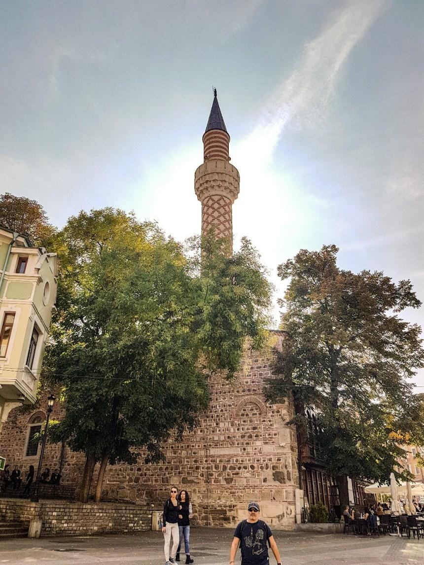 Dzhumaya moskee Plovdiv Bulgarije