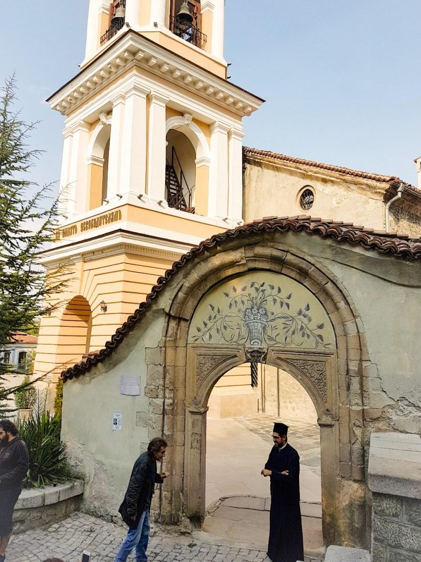 Holy mother of God kerk Plovdiv Bulgarije