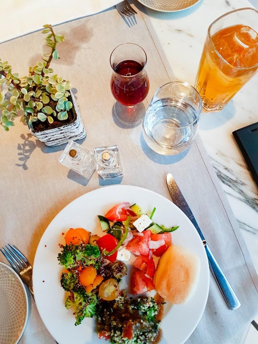 Marriot hotel Athene griekenland lunch