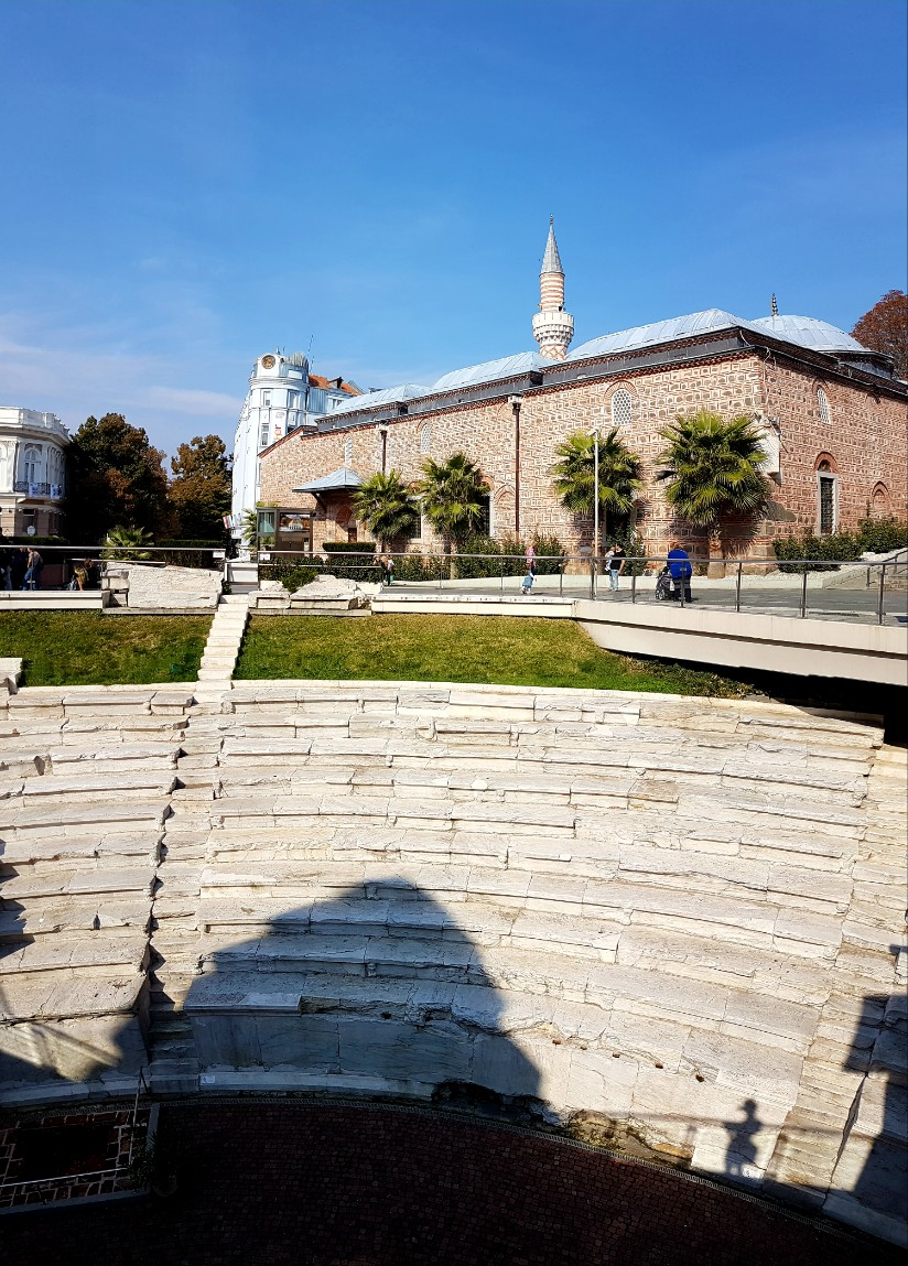 Romeins stadion Plovdiv Bulgarije