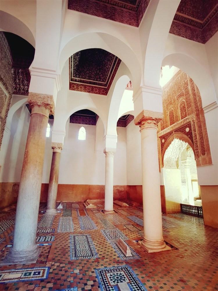 Saadiens tombes Marrakech Marokko