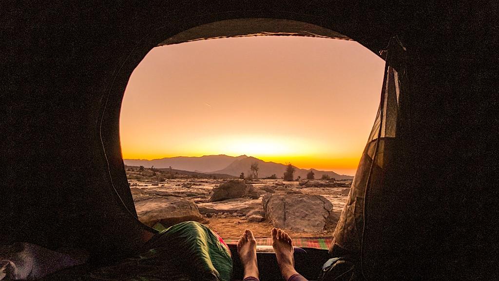 De 8 beste wildkampeerplekken in Oman