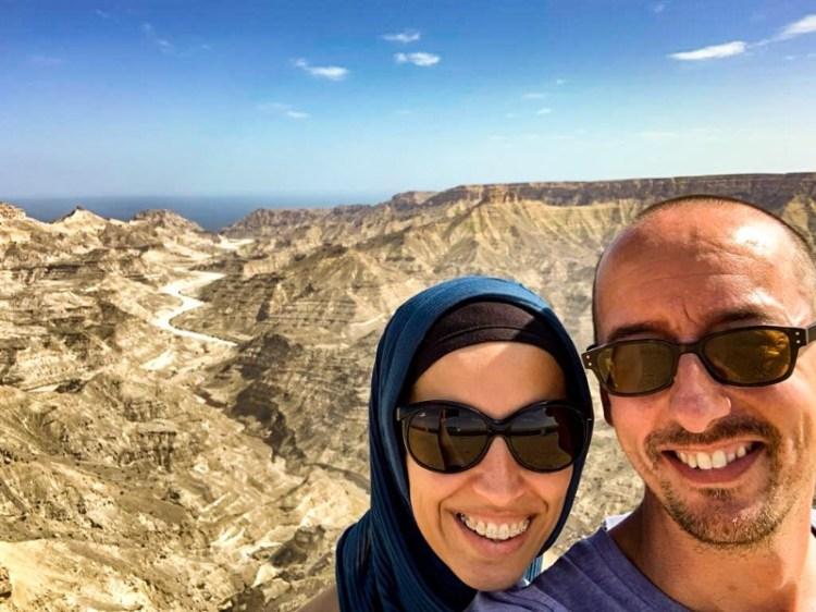 Jebel samhan canyon Oman.