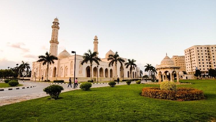 Moskee Salalah Dhofar regio Oman