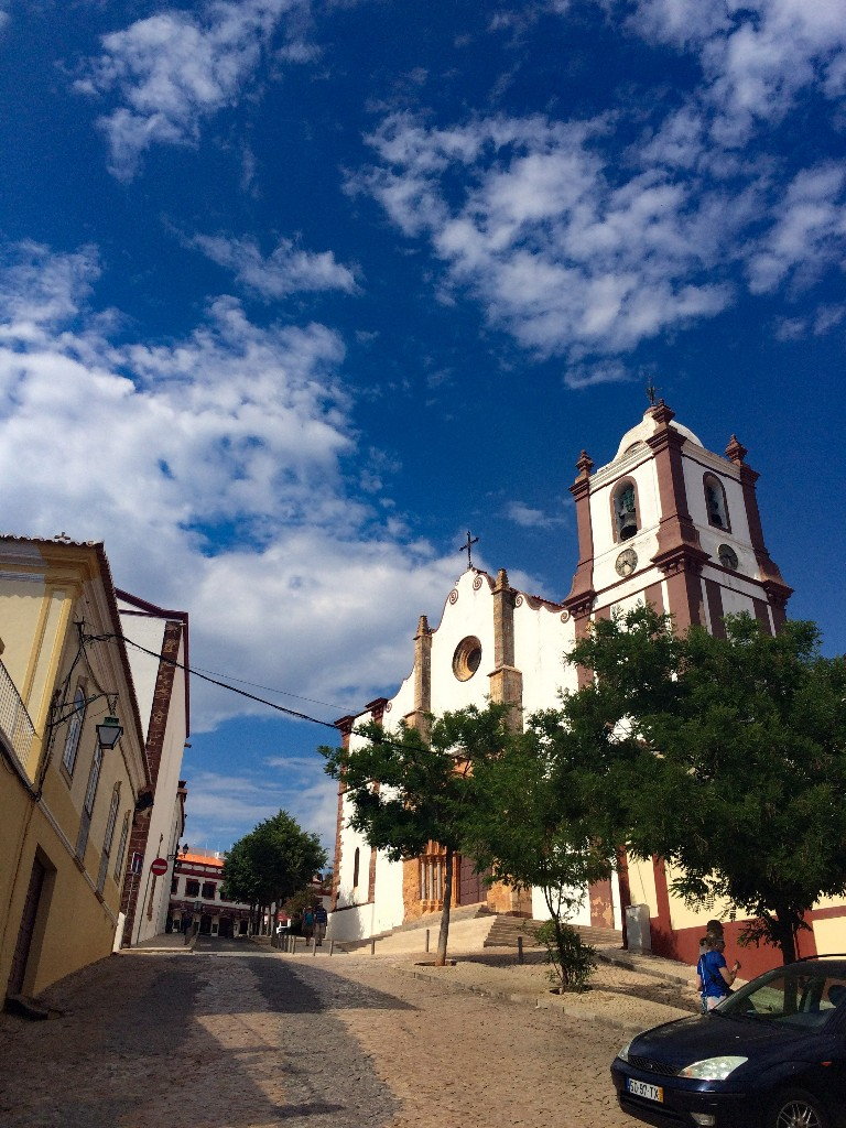 Silves dorp Algarve Portugal