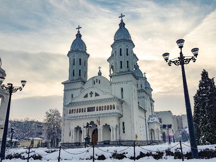 Cluj winter Roemenië