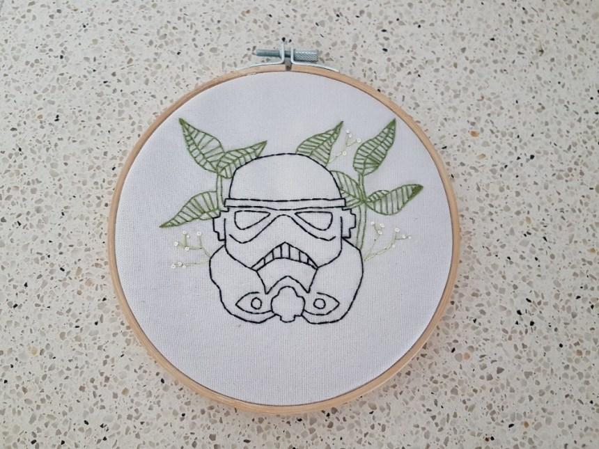 star wars borduren borduurring