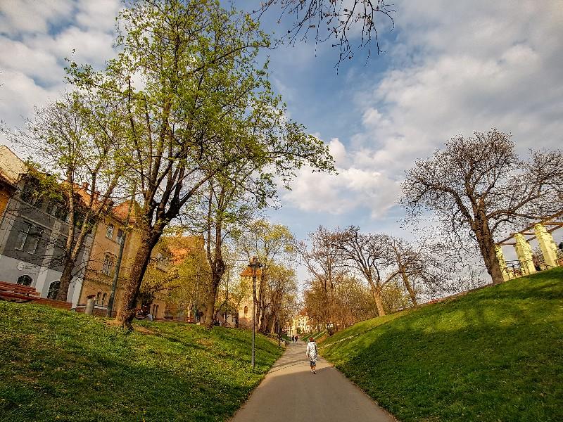 Park Sibiu Roemenie