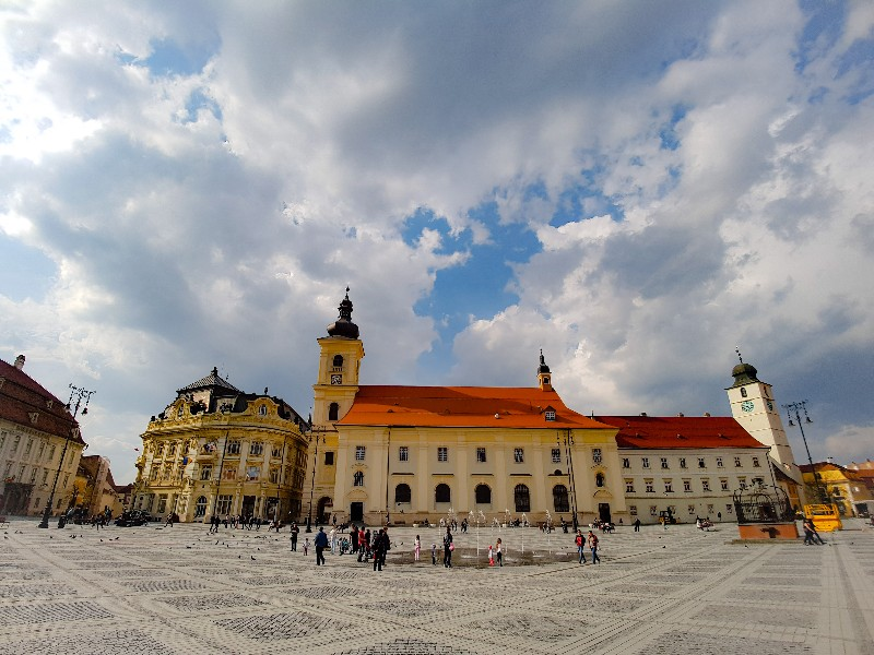 Sibiu Roemenie Piata Mara