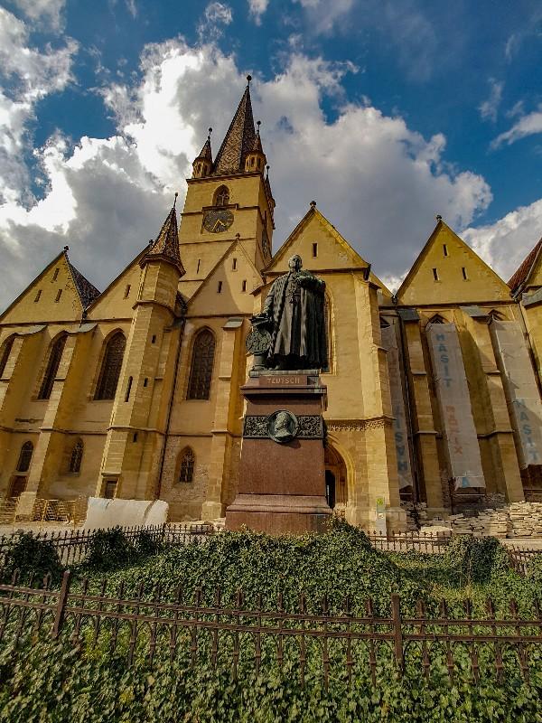 Lutherse kathedraal Sibiu Roemenie