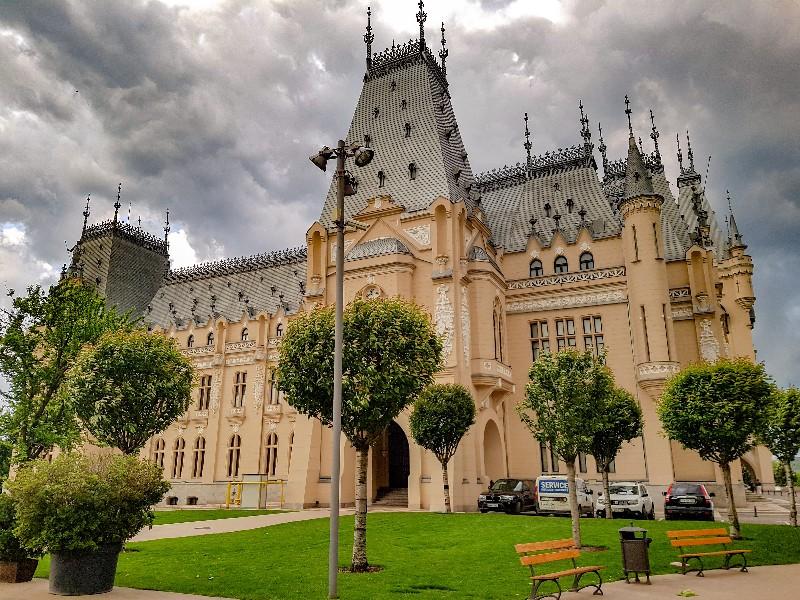 Cultuur Paleis Iasi Roemenië
