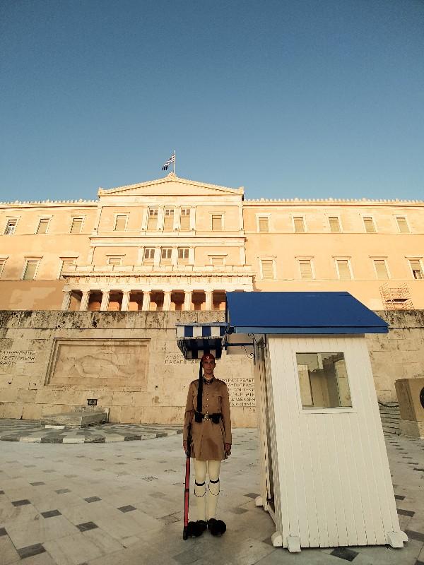 Parlementsgebouw Athene Griekenland