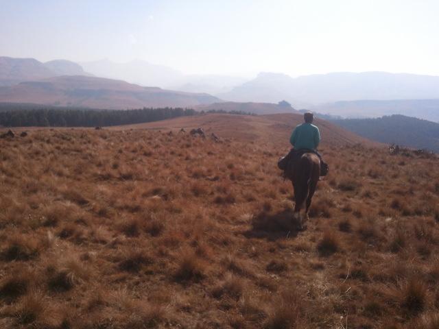 Khotso Horse Trails Drakensbergen Zuid Afrika