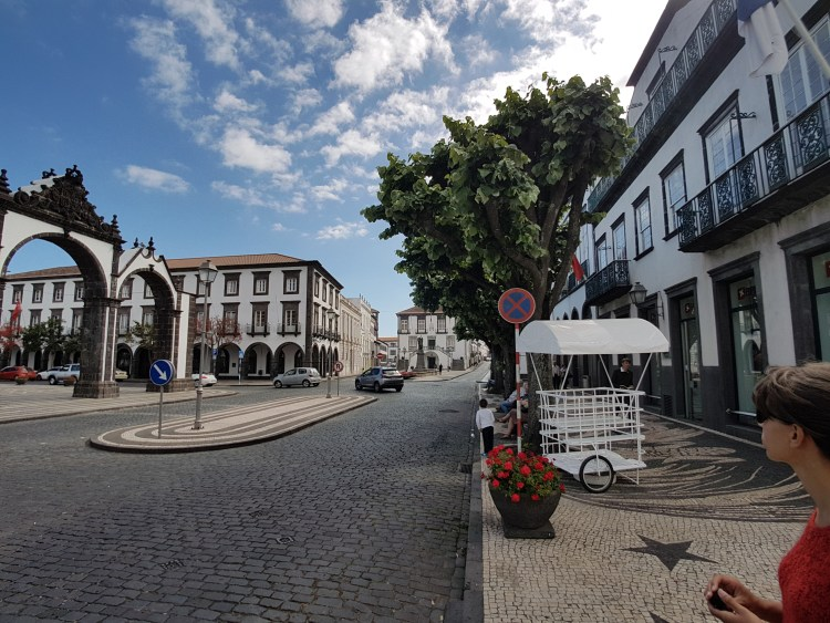 Ponta Delgada Azoren Sao Miguel Portugal