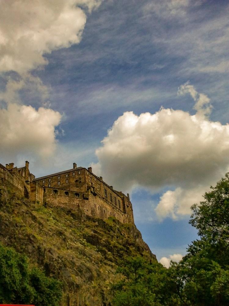 Edinburg Castle Engeland Schotland