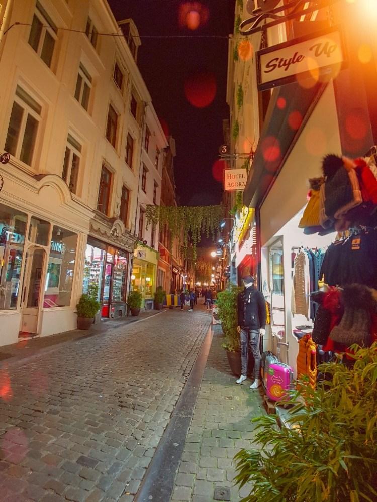 Beenhouwersstraat België Brussel