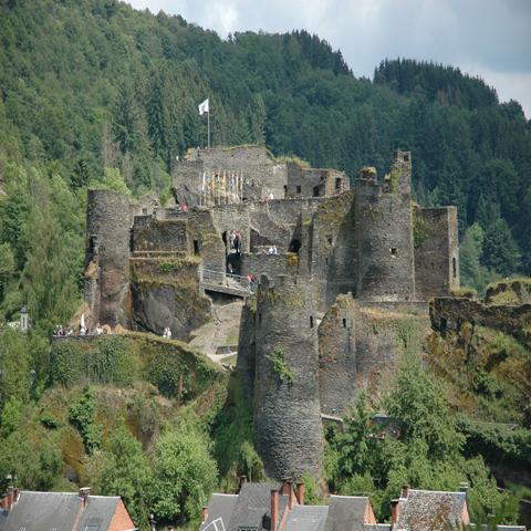 Kasteel La Roch-en-Ardenne België Ardennen