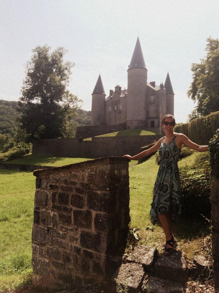 Kasteel van Celles Veves Belgische Ardennen
