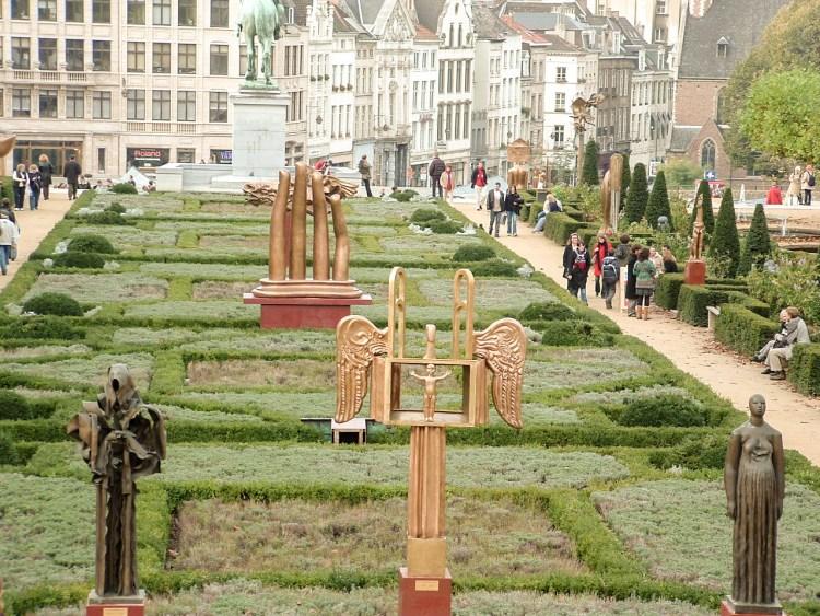 Kunstberg Mont des arts Brussel België