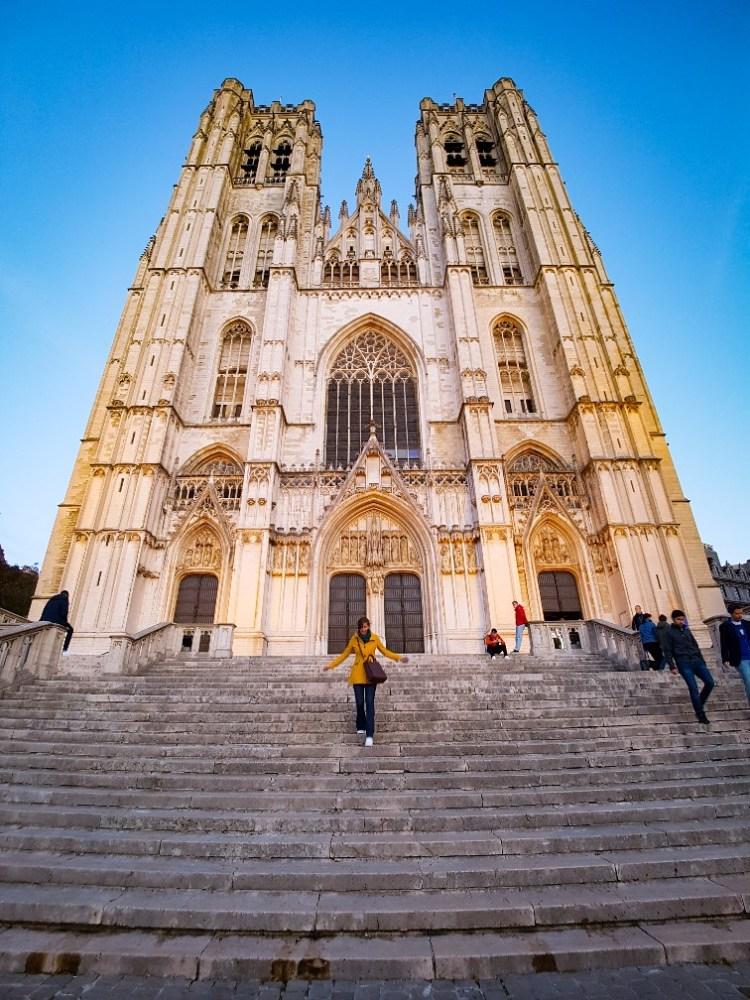 St-Michiels en St-Goedelekathedraal Brussel België