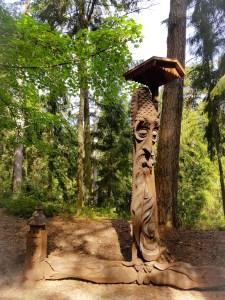 Heksenheuvel Juodkrante Litouwen