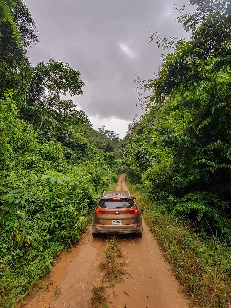 Heb je een 4wd jeep nodig voor Belize?