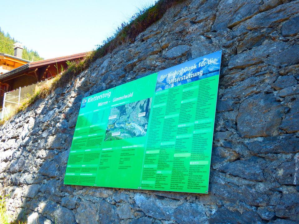 Klettersteig Murren