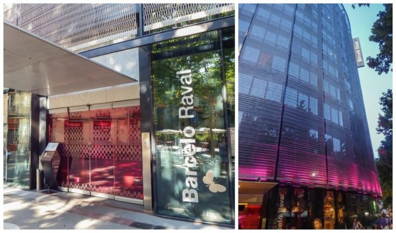 The Barcelo Raval hotel in Barcelona, Spain