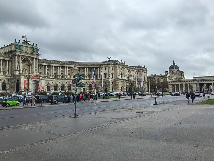 The museum quarter of Vienna, Austria